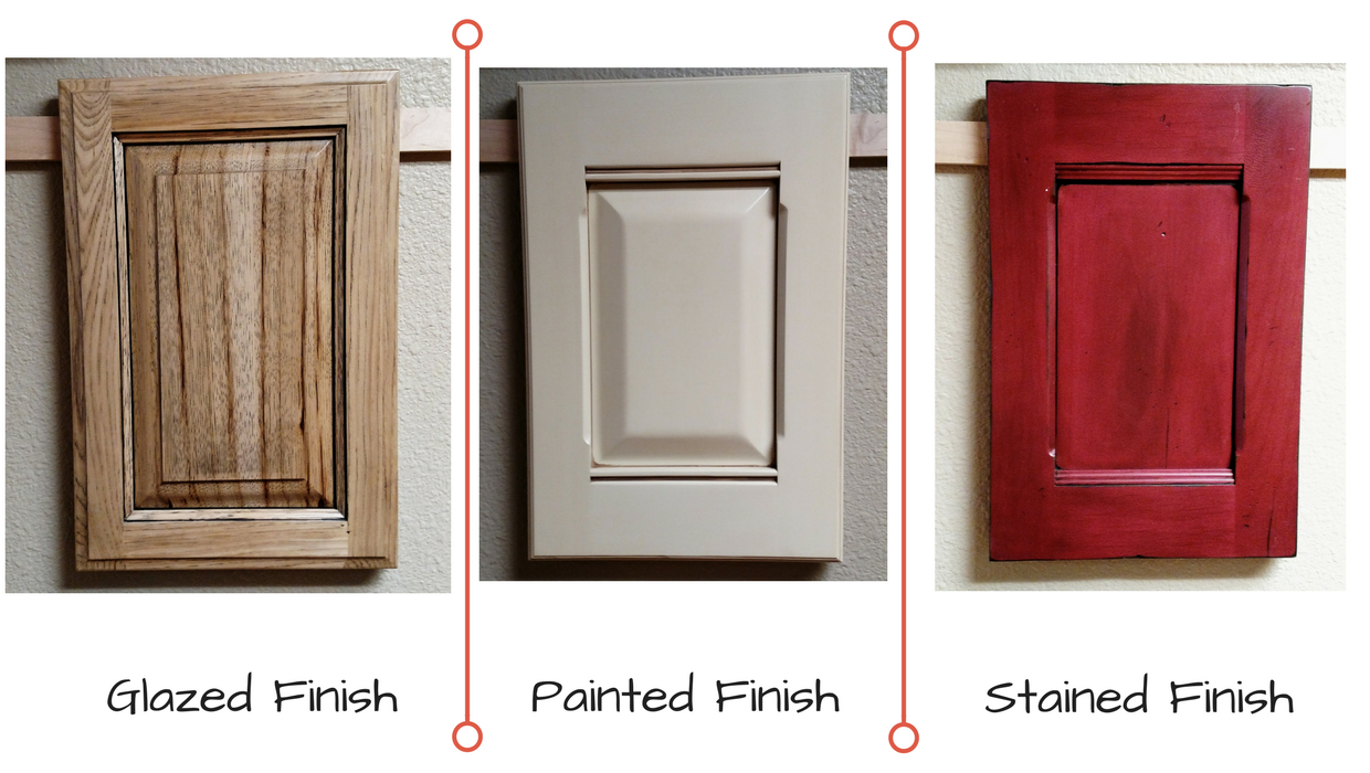 Superbe ... Glazed Vs Painted Vs Stained Cabinet Finish